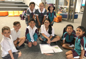 Students at St Anthony of Padua Austral